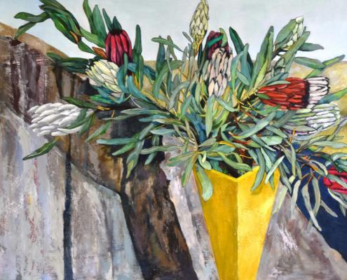 Laura Phillips, Vista #7. Oil on board, 84 x 106cm