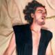 Samuel Massey, The Prey of an inner god who speaks at all times, detail. Oil on aluminium, 50 x 40cm. Courtesy: the artist.