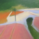 Mary Donnelly, Untitled Landscape. Oil and acrylic on canvas, 81 x 103cm.
